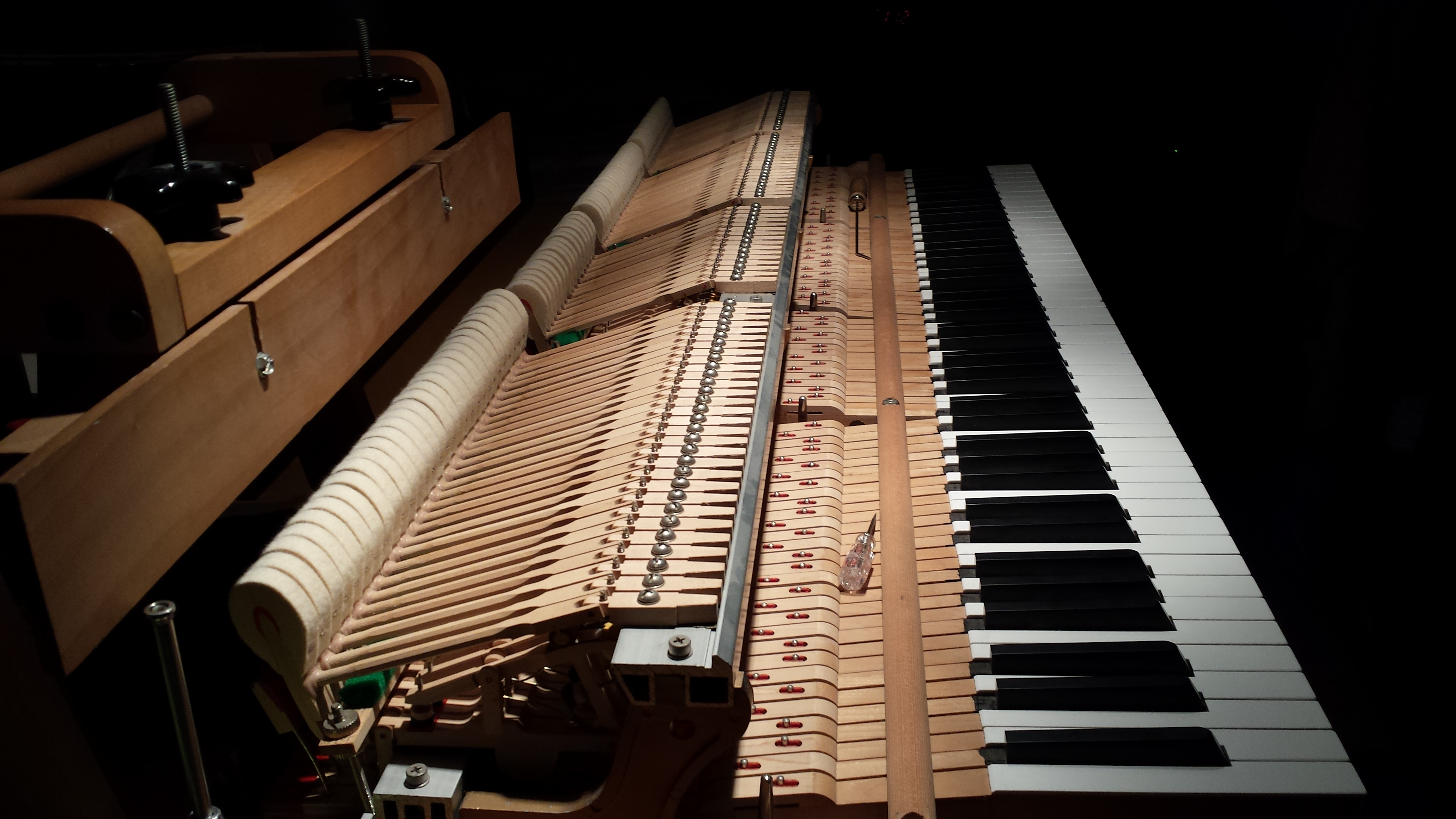 Grand Piano Action Regulation